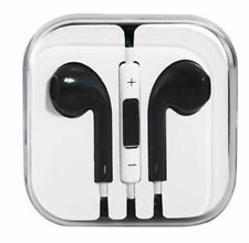 Iphone 5/6 Ipad Compatible Black Earphone With Mic & Quality Sound