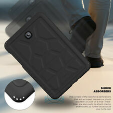 Poetic Galaxy Tab S2 9.7 Case Turtle Skin Sound-Amplification+Bottom Air Vents