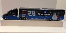 KEVIN HARVICK #29 GM GOODWRENCH E.T. DIECAST HAULER COLLECTIBLE 2002 HTF