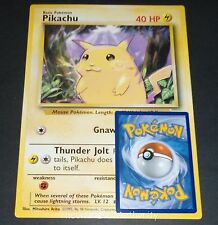 Pikachu 58/102 Base Set Jumbo Oversized EXCELLENT Pokemon Card