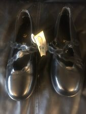 """Ladies """"Easy B"""" Black Round Toe Shoes Size 7 /2V New Extra Wide Shoes"""