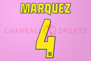 Marquez #4 2004-2006 Barcelona Homekit Nameset Printing