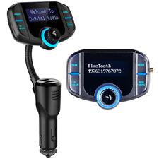DAB Radio: Kfz-DAB+-Empfänger, FM-Transmitter, Bluetooth, Freisprecher, AUX, USB