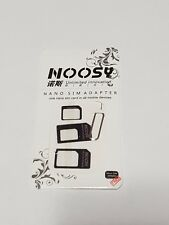 Noosy Nano to Micro / Standard SIM Card Adapter for Any Carrier (SIM Converter)