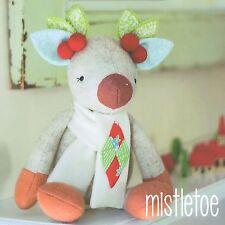 MISTLETOE - Felt Sewing Craft PATTERN -  Soft Toy Primitive Christmas