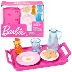 Barbie Breakfast Kitchen Home Accessories Set FXG28