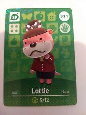 Animal Crossing Amiibo Cards Series 4 #311 Lottie - Unscanned