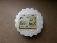 Yankee Candle Usa Rare White Chocolate Mint Wax Tart