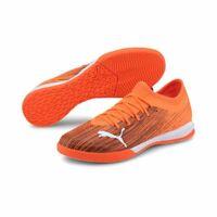 Puma Ultra 3.1 Mens Football Soccer Indoor Training Shoes Trainers Orange Black