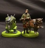 Scythe Invaders from Afar Hand Painted Minis (Characters & Mechs, 2 factions)