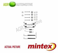 MINTEX REAR BRAKE SHOES SET FITTING KIT PIN SPRINGS GENUINE QUALITY - MBA710