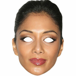 Nicole Scherzinger Celebrity Card Face Mask 1 5 10 20 30 Party Wholesale