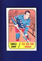 Camille Henry 1967-68 TOPPS Hockey #26 (EX) New York Rangers
