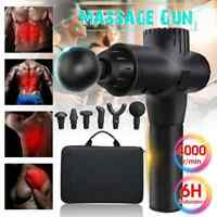 Massage Gun Ball Percussion Massager Muscle Vibrating Relaxing Therapy Device BC