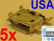 5x Micro USB Charging Port Charger Sync For ZTE ZMAX Z970  MAX N9520 N9510 USA