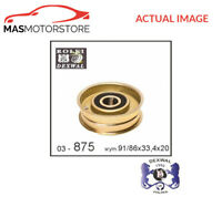 V-RIBBED BELT TENSIONER PULLEY DEXWAL 03-875 P NEW OE REPLACEMENT