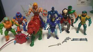 Motu Masters of the Universe lotto Skeletor He Man Battlecat