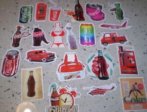 22  Stickers   Coca Cola