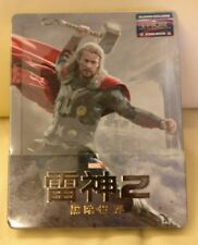 Thor 2 Blufans Blu-ray Steelbook, 1/4 slip, Mint/Sealed