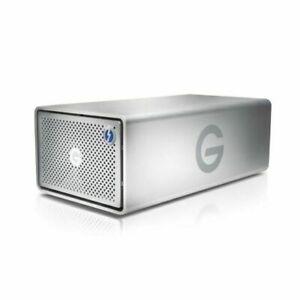 G-Technology G-raid 20TB HDD 2 USB 3.0 Removable Thunderbolt External Hard Drive