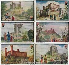 Figurine Lavazza serie n°1 Castelli Piemontesi ANNO 1949 Chromo