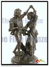 """Bronze Statue Dancing Couple """" The Harvest Dance"""", Signed: Didier Debut"""