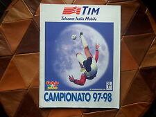 Album figurine campionato 97-98,calciatori,calcio,TIM,no panini