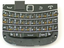 ORIGINAL BLACKBERRY BOLD 9900 RUSSIAN KEYPAD KEYBOARD+MEMBR​ANE PCB+TRACKPAD FIX