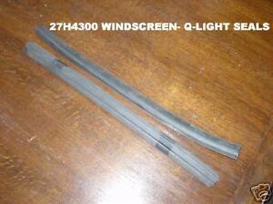 MG MGB Roadster Windscreen to Quarterlight Seals (27H4300)