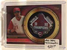 2012 Topps Gold World Series Champion Pins #BL Barry Larkin