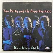 TOM PETTY SIGNED AUTOGRAPH ALBUM VINYL RECORD - YOU'RE GONNA GET IT RARE W/ PSA