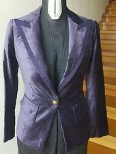 Pinko giacca velluto viola tg40/S MODA 2017 fashion