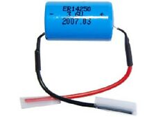 LS14250 (ER14250) 3.6 Volt 1/2 AA Primary Lithium Battery with Leads (1200 mAh)