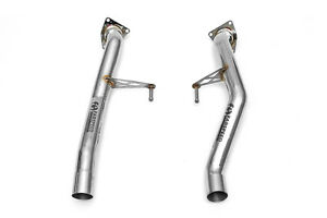 Fabspeed Porsche 955 Turbo/Turbo S Secondary Cat Bypass Pipes