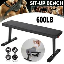 Weight Bench Home Gym Workout Equipment Flat Incline Sit Up Training Exercise
