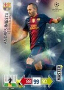 Adrenalyn XL Champions League 2012/2013 Andres Iniesta 12/13 Master