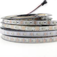 WS2812B 5050 RGB 144 LED Strip Individual Addressable DC 5V waterproof tape lamp