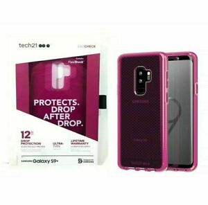 Tech21 EvoCheck Drop Protection Case For Samsung Galaxy S9+ PLUS Purple/Pink