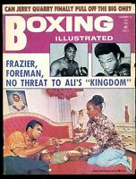 BOXING ILLUSTRATED MAGAZINE DECEMBER 1973 MUHAMMAD ALI