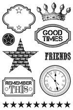 Teresa Collins Good Timesl, Freestyle Stamps Stamping, Craft, Scrapbooking