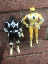 Bandai Black and Yellow MIGHTY MORPHIN POWER RANGERS TOYS 1994 Action Figure