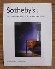 Sotheby's Olympia sale Box WO 06776. Furniture: Antiques For The Home. 3/15/2006