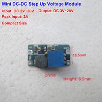 DC-DC Converter Boost Step up Voltage Mini Module 3V 5V 9V 12V 24V 2A Adjustable