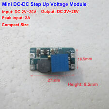 2A DC-DC Boost Buck Converter Step up Voltage Module Adjustable 3V 5V 9V 12V 24V