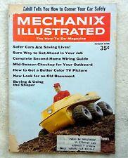 Vintage MECHANIX ILLUSTRATED MAGAZINE Back Issue AUGUST 1968