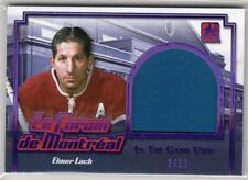 2017 Leaf In The Game Used Elmer Lach Montreal Forum Seat Relic #2/12