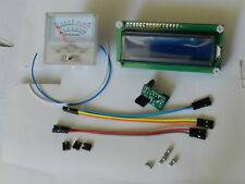 Frequency Counter, 10Hz to 80MHz /,S-meter with crystal tester plug-in
