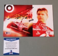 2006 Dan Wheldon signed autographed Target postcard photo Beckett certification