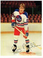 1977 Winnipeg Jets Home vs Birmingham Bulls WHA World Hockey Assn Program #2