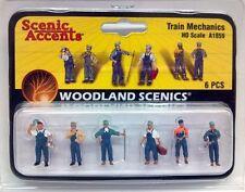 Woodland Scenics (HO-Scale) A1859- Scenic Accents Figures - TRAIN MECHANICS